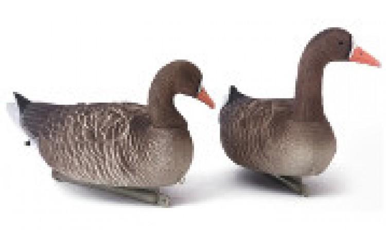 Плавающие сминаемое чучело белолобого гуся North Way серии Sofplast 3D (активный)