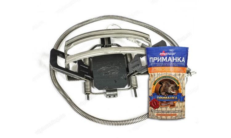 Капкан петельный для безопасного отлова кабана Hold-A-Hawg с приманкой