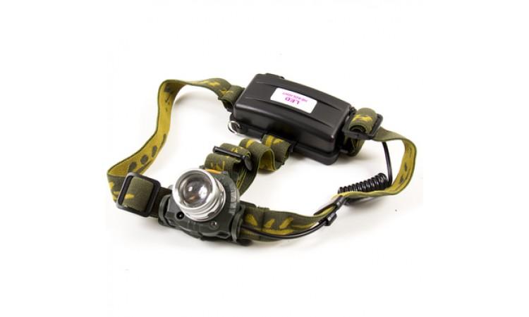 Фонарь налобный SWAT NK-G604 Sensor (Zoom)
