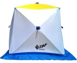 Палатка СТЕК КУБ 2 двухслойная для зимней рыбалки