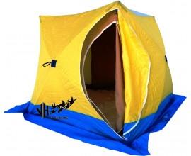 Палатка зимняя Стек КУБ-3 (двухслойная)