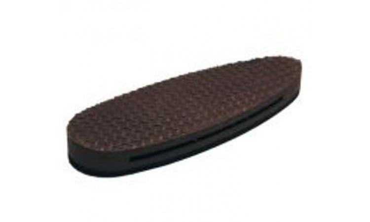 Тыльник для приклада 12 мм, коричневый, невентилируемый
