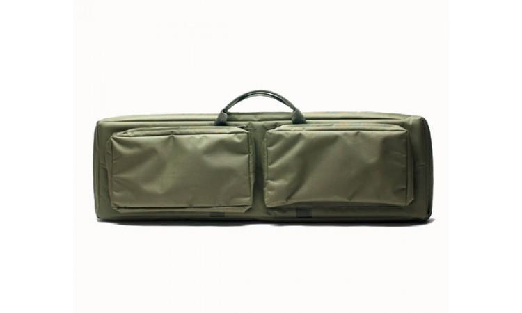 Кейс для оружия Вектор А-9-1 зеленый с отделениями под магазин
