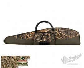 Чехол для ружья камуфляж - камыш, 132 см, с карманом. Allen 762-52