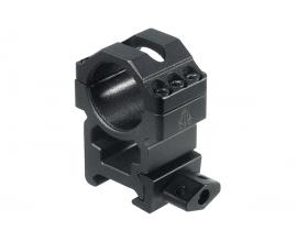 Кольца Leapers UTG 25,4 мм быстросъемные на Weaver/Picatinny высокие с винтовым зажимом, 3 винта