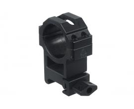 Кольца Leapers UTG 30 мм быстросъемные на Weaver/Picatinny высокие с винтовым зажимом