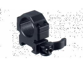 Кольца Leapers UTG 25,4 мм быстросъемные на Weaver/Picatinny низкие с рычажным зажимом