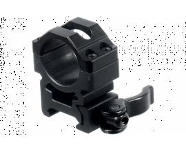 Кольца Leapers UTG 25,4 мм быстросъемные на Weaver/Picatinny высокие с рычажным зажимом
