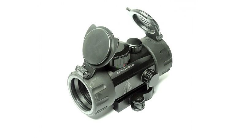 Коллиматорный прицел LEAPERS UTG 1х30 Compact быстросъемный
