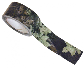 Камуфляжная лента Allen, цвет - листва, 18 м, ширина 5 см