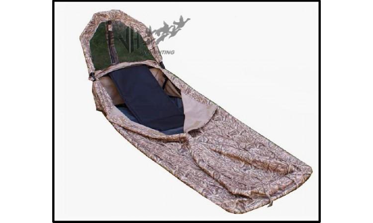 Лежачая засидка Шилка на гуся
