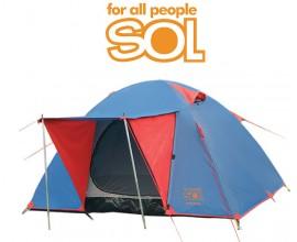 Палатка 2х местная Sol Wonder 2