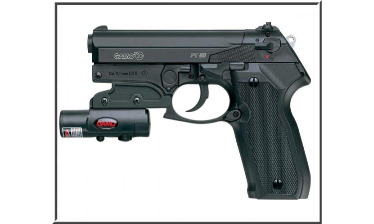 Пневматический пистолет Gamo PT-80 Laser