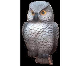 Чучело совы(серая)