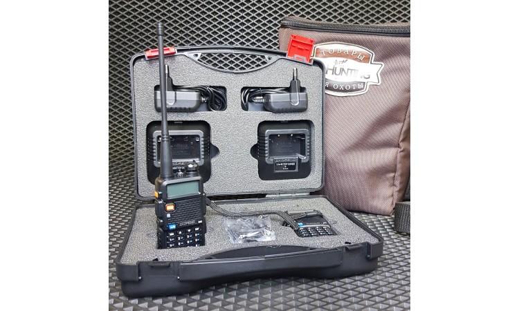 Рации Baofeng UV-5R в кейсе, Рация Baofeng UV-5R купить