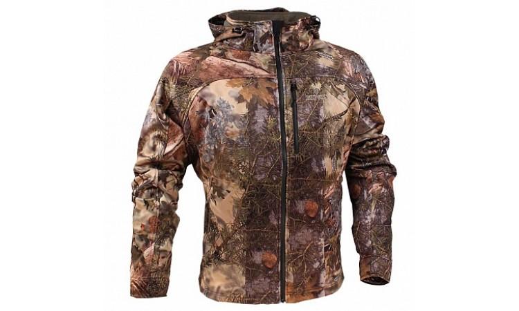 Куртка с капюшоном на молнии KingsCamo lone peak jacket XKG