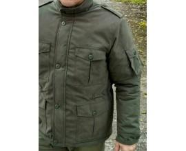 Зимняя городская куртка в стиле military