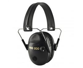 Наушники активные Pro 200 чёрные стерео, складные