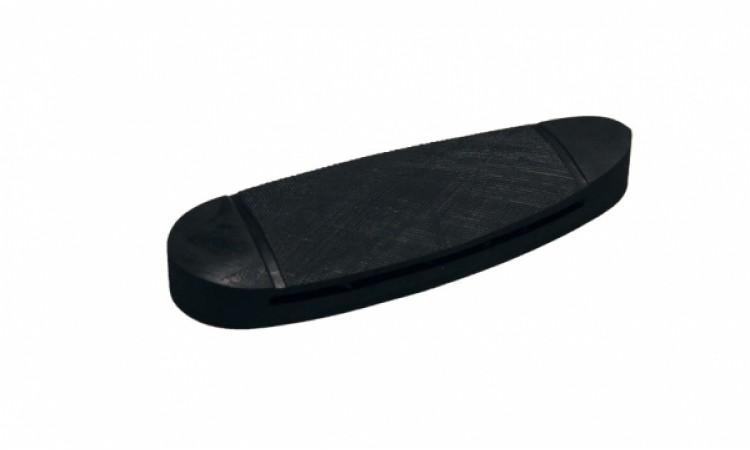 Тыльник для приклада 12 мм, чёрный, невентилируемый