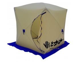 Палатка зимняя Стек КУБ-1 (трехслойная)