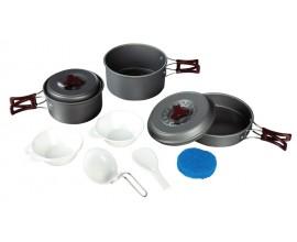 Набор походной посуды из алюминия Tramp TRC-024