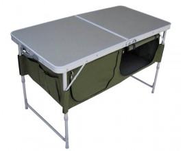 Стол складной Helios с отделом под посуду (HS-TA-519)