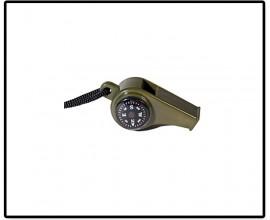 Свисток с компасом и термометром