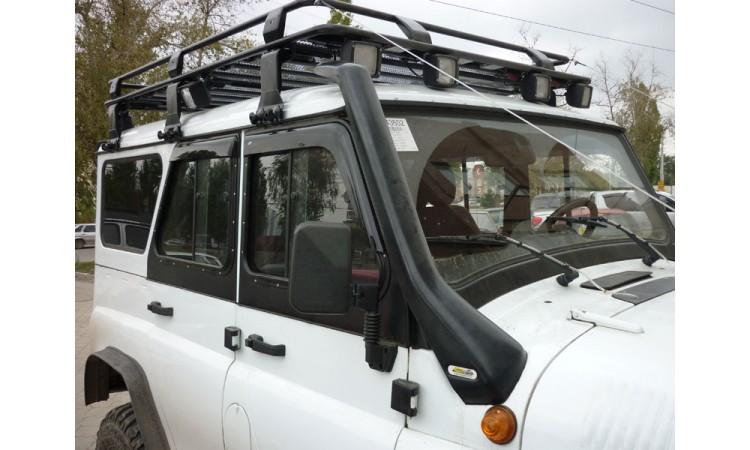 Багажник экспедиционный для УАЗ 3151 (ХАНТЕР) с сеткой