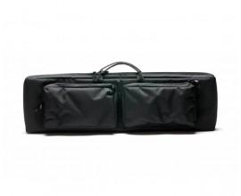 Кейс из капрона чёрный с двумя карманами VEKTOR А-7-1 ч