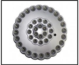 Фонарь тарелка BL-7642-42LED