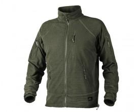 Толстовка флисовая Helikon Alpha Tactical Fleece Jacket Olive