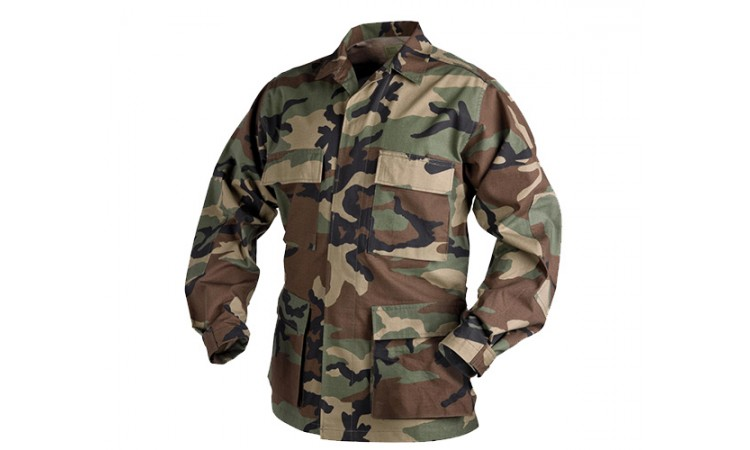 Рубашка Helikon BDU PR US Woodland