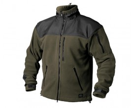 Куртка флисовая Helikon Classic Army Olive-Black