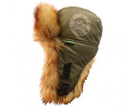 Шапка-ушанка NordKapp Frozen World 555 зеленая