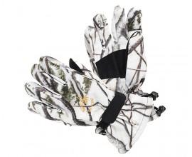 Перчатки белые камуфляжные JahtiJakt Newis Snow Camo