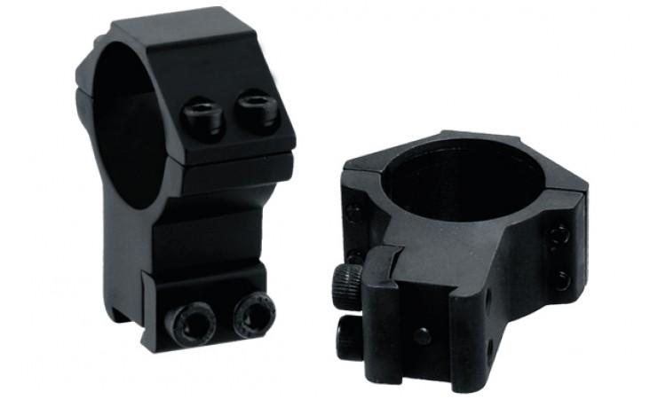 Кольца LEAPERS 30 мм, на призму 10-12 мм, высокие