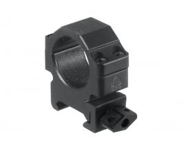 Кольца Leapers UTG 25,4 мм быстросъемные на Weaver/Picatinny низкие с винтовым зажимом