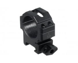 Кольца Leapers UTG 30 мм быстросъемные на Weaver/Picatinny низкие с винтовым зажимом