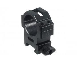 Кольца Leapers UTG 30 мм быстросъемные на Weaver/Picatinny средние с винтовым зажимом