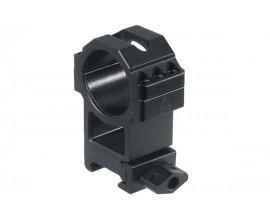 Кольца Leapers UTG 30 мм быстросъемные на Weaver/Picatinny высокие с винтовым зажимом, 3 винта