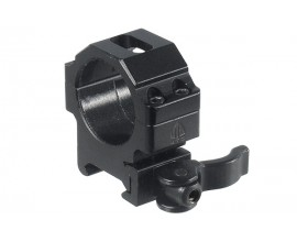 Кольца Leapers UTG 30 мм быстросъемные на Weaver/Picatinny низкие с рычажным зажимом