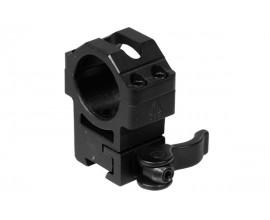 Кольца Leapers UTG 25,4 мм быстросъемные на Weaver/Picatinny средние с рычажным зажимом
