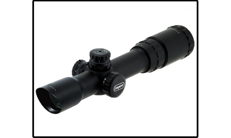 Прицел LEAPERS Accushot Tactical 1-4x24 Circle Dot (SCP3-1424CDQ)