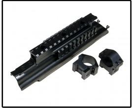База Weaver для установки на ствольную коробку механизма АК (Leapers)