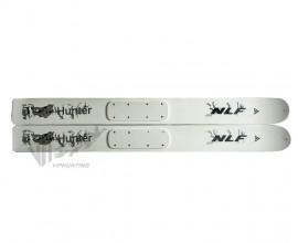 Лыжи широкие NLF Hunter 155 см дерево-пластик