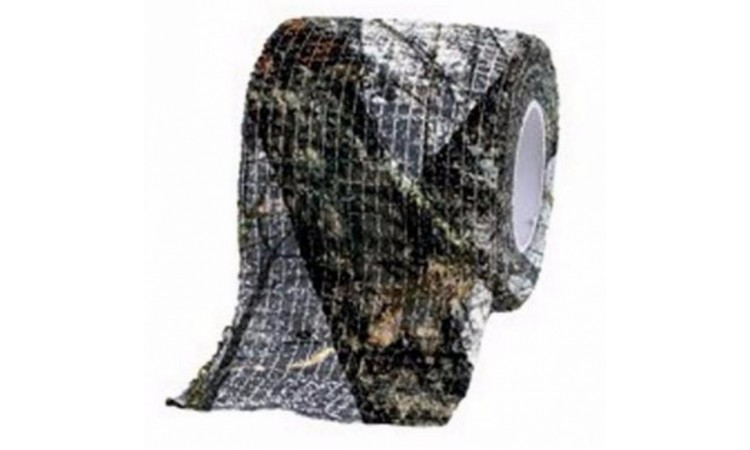 Камуфляжная лента Allen многоразовая, цвет - Mossy Oak Winter (5 см x4,5м)