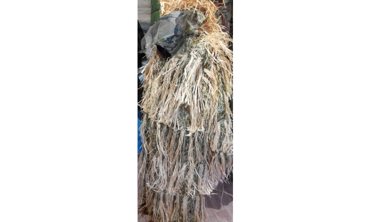 Костюм маскировочный маскировка «Леший» охотничий желтый стерня камыш North Way (Норс Вэй)