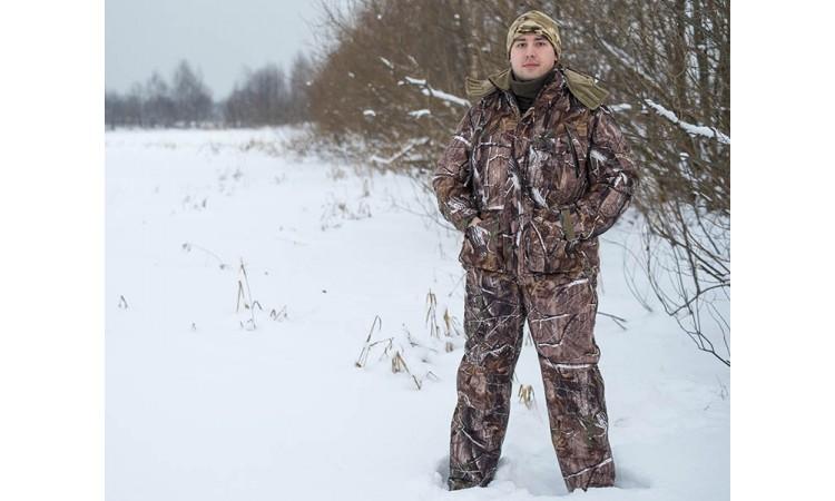 Костюм NordHunter Camo для зимней охоты