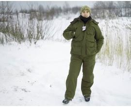 Костюм для охоты NordHunter Green(Зимний)