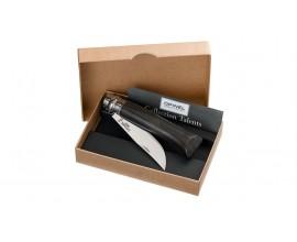Нож Opinel n° 8 эбеновая рукоять